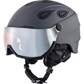 Alpina Grap Visor 2.0 HM Casque de ski, grey matt